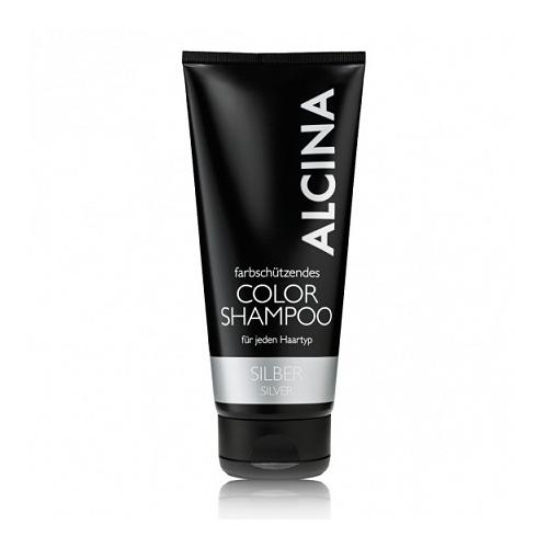 Alcina Color Shampoo sidabrinis plaukų spalvą ryškinantis šampūnas  (200 ml)