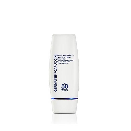 Germaine de Capuccini Excel Therapy O2 SPF 50 Urban Shield apsauginė priemonė nuo UV (30 ml)