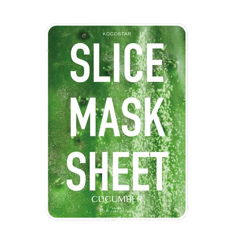 Kocostar Slice Mask Sheet Cucumber lakštinė agurkų  kaukė