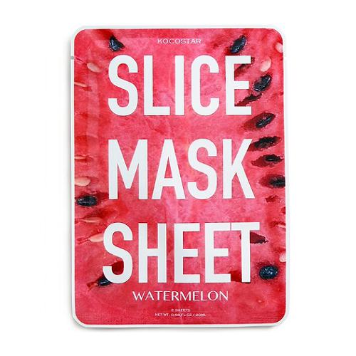 Kocostar Slice Mask Sheet Apple lakštinė obuolių kaukė