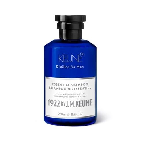 1922 by J. M. Keune Essential švelniai valantis šampūnas plaukams ir kūnui (250 ml)