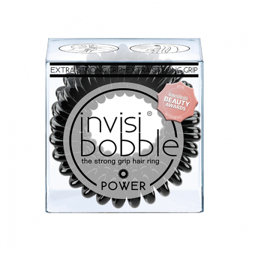 Invisibobble Power plaukų gumytė True Black (3 vnt.)
