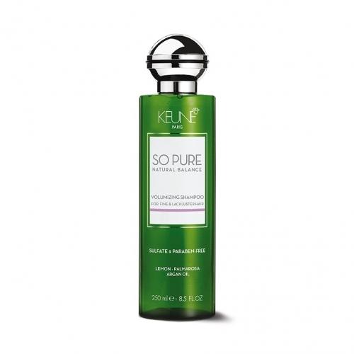 Keune So Pure Volumizing plaukų apimtį didinantis šampūnas (250 ml)