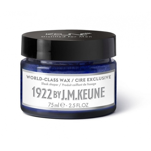 1922 by J. M. Keune World Class vaškas plaukams (75ml)