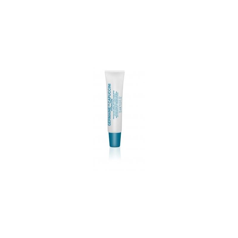 Germaine de Capuccini Hydracure lūpų balzamas nuo taršos SPF 20 (15ml)