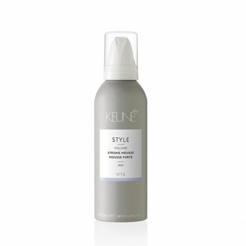 Keune Style Strong stiprios fiksacijos plaukų apimtį didinančios putos (75 ml)