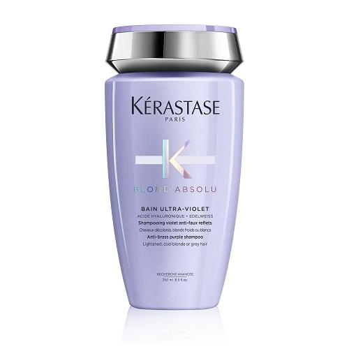 Kerastase Blond Absolu Bain Ultra-Violet nepageidaujamus atspalvius šalinantis šampūnas (250 ml)
