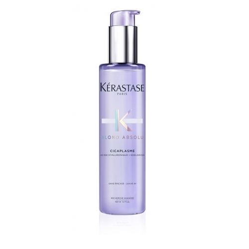 Kerastase Blond Absolu Cicaplasme universalus stiprinamasis ir nuo karščio saugantis šviesintų plaukų serumas (150 ml)