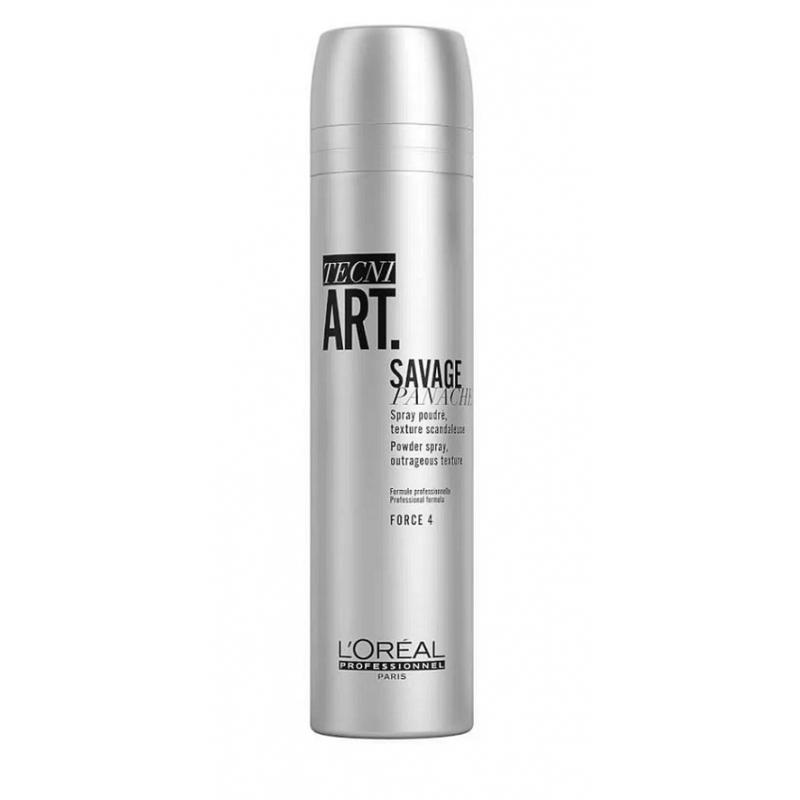 L'Oreal Professionnel Tecni Art Savage Panache purškiama pudra (250 ml)