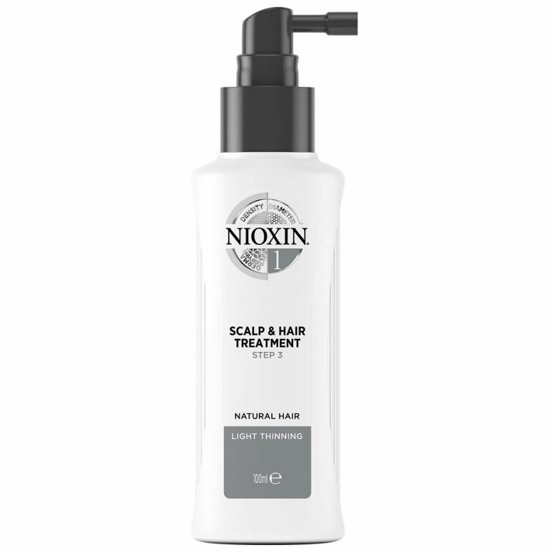 Nioxin System 1 Scalp and Hair Treatment galvos odos plaukų priežiūros priemonė (100 ml)