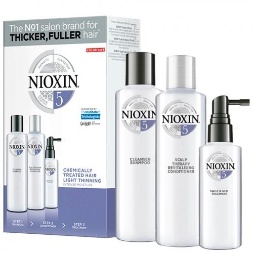Nioxin Trialkit System 5 galvos odos ir plaukų priežiūros rinkinys