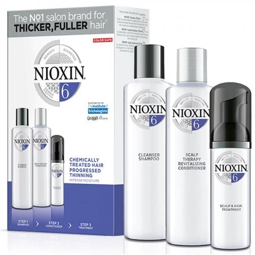 Nioxin Trialkit System 6 galvos odos ir plaukų priežiūros rinkinys