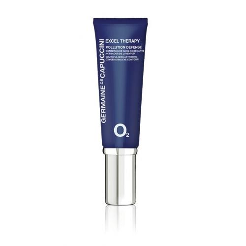Germaine de Capuccini Excel Therapy O2 Pollution Defence akių kontūrų kremas su deguonimi (15 ml)