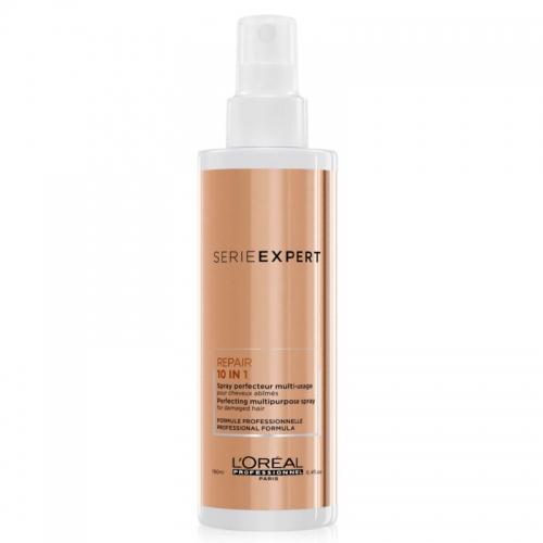 L'Oreal Professionnel Absolut Repair plaukus puoselėjantis pažeistų plaukų purškiklis (190 ml)