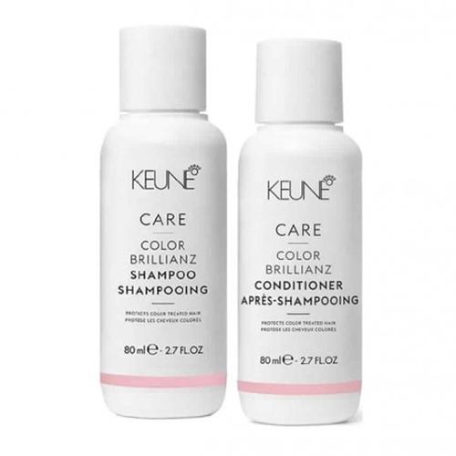 Keune Care Color Brillianz rinkinys dažytų plaukų priežiūrai (80 ml. + 80 ml.)