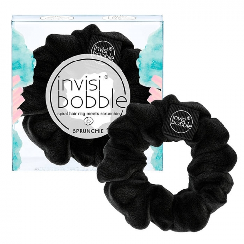 Invisibobble Sprunchie True Black plaukų gumytė