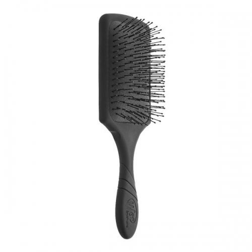 The Wet Brush Pro Paddle stačiakampis plaukų šepetys (spalva - Juoda)