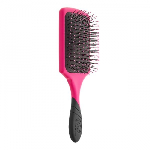 The Wet Brush Pro Paddle stačiakampis plaukų šepetys (spalva - Rožinė)