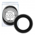 Invisibobble Slim plona plaukų gumytė True Black (3 vnt.)