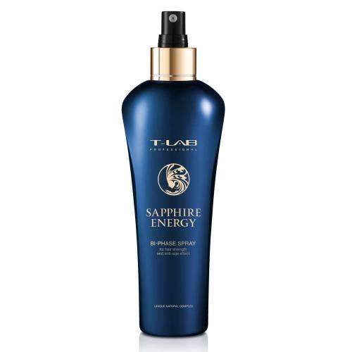 T-LAB Professional Sapphire Energy Bi-phase Spray - dvifazis purškiklis plaukų stiprinimui (250 ml)