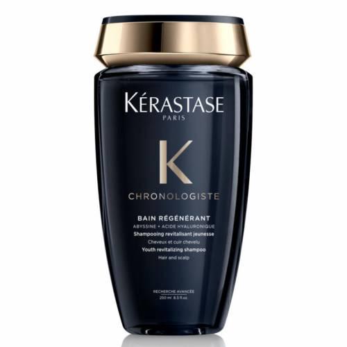 Kerastase Chronologiste Bain Régénerant gaivinantis šampūnas mažinantis galvos odos ir plaukų senėjimo požymius (250 ml)