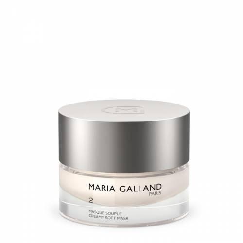 2 Maria Galland valanti kreminė grožio kaukė su braškių ekstraktu ir vitaminu B6 (50 ml)