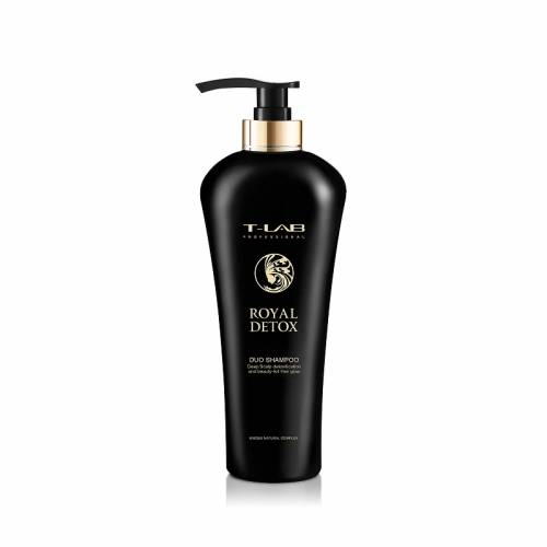 T-LAB Professional Royal Detox Duo detoksikuojantis šampūnas (750ml)