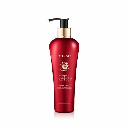 T-LAB Professional Total Protect Duo šampūnas dažytiems plaukams (300ml)