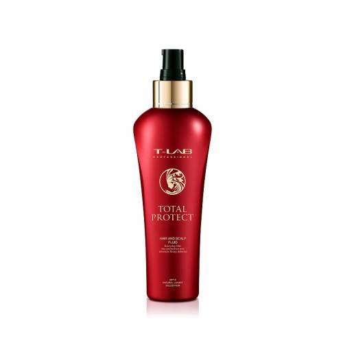 T-LAB Professional Total Protect dažytų ar chemiškai apdorotų plaukų fluidas (150ml)