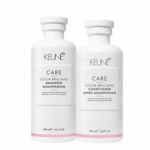 Keune Care Color Brillianz rinkinys dažytų plaukų priežiūrai (300 + 250 ml)
