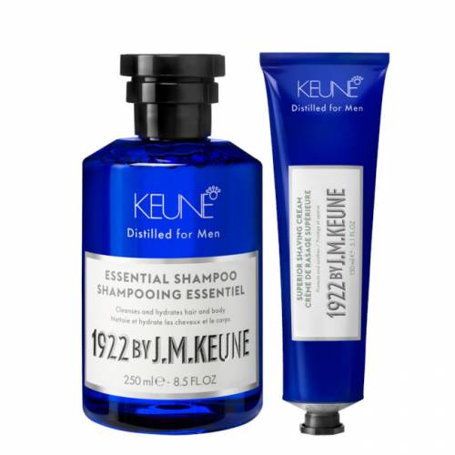 1922 BY J. M. Keune rinkinys plaukų ir barzdos priežiūrai (250 + 150 ml)