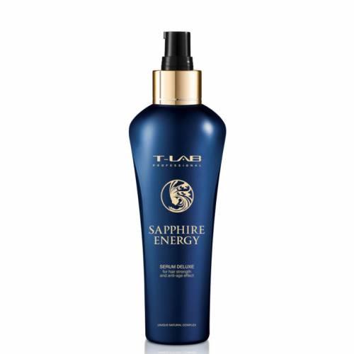 T-LAB Professional Sapphire Energy Serum Deluxe serumas plaukų stiprinimui (130 ml)