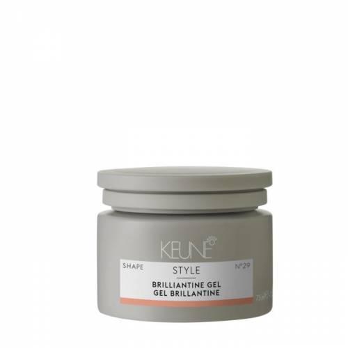 Keune Style Brilliantine blizgi plaukų pomada-želė šlapiam efektui (75 ml)