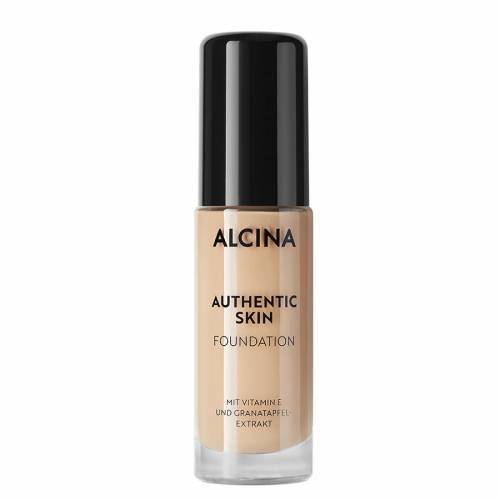 Alcina Authentic Skin Foundation Ultralight prie odos prisitaikanti autentiška kreminė pudra (30 ml)