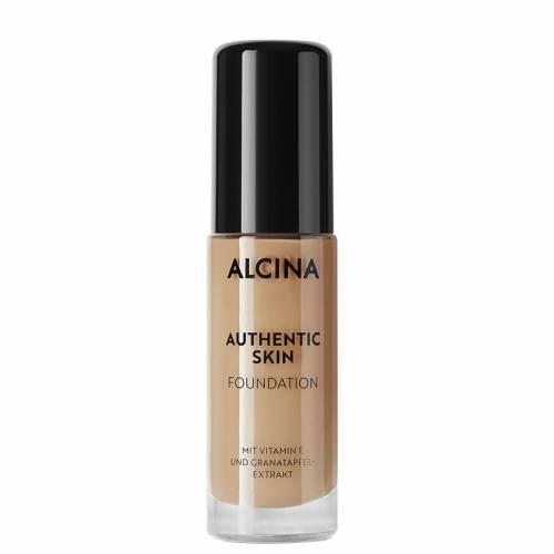 Alcina Authentic Skin Foundation Medium prie odos prisitaikanti autentiška kreminė pudra (30 ml)