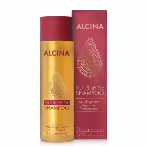 Alcina Nutri Shine maitinantis ir žvilgesio suteikiantis aliejinis šampūnas (250 ml)