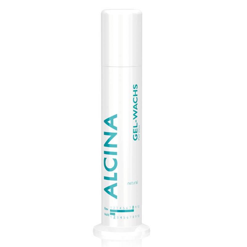 Alcina Gel-Wachs skaidrus gelis-vaškas plaukų modeliavimui (100 ml)