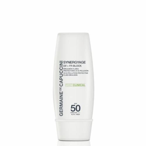 Germaine de Capuccini Synergyage P-C UV + FR SPF 50 apsauginė emulsija nuo saulės (30 ml)