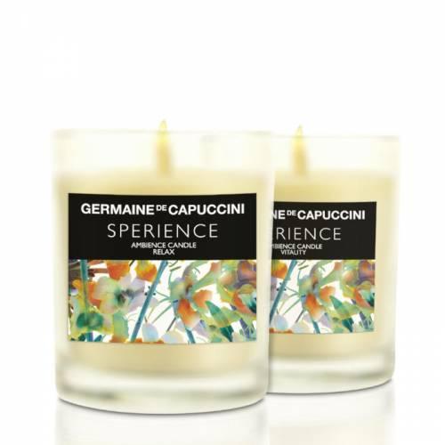 Germaine de Capuccini Sperience Relax aromaterapinė energijos suteikianti žvakė