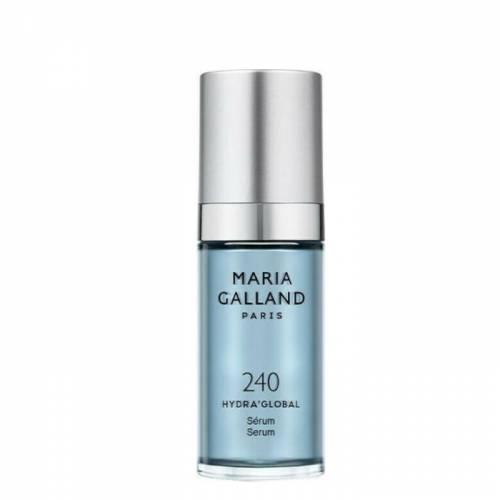 240 Maria Galland drėkinantis serumas su hialuronu ir raudonaisiais dumbliais (30 ml)