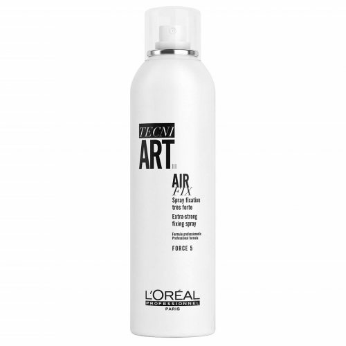 L'oreal Professionnel Air fix stiprios fiksacijos plaukų lakas saugantis nuo šiaušimosi (250 ml)