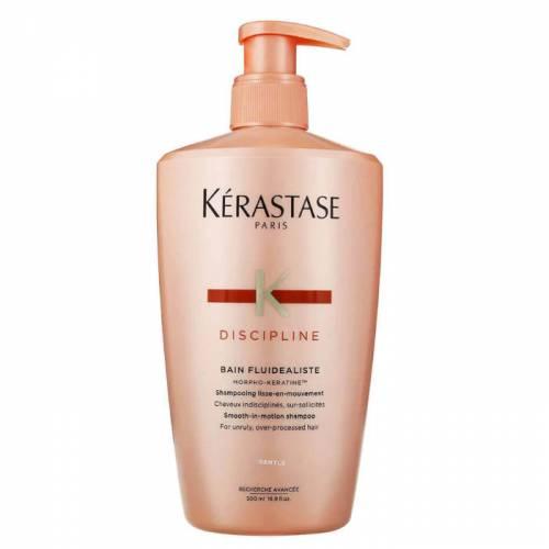 Kerastase Discipline Bain Fluidealiste Gentle šampūnas nepaklusniems ir labai jautriems plaukams (500 ml)