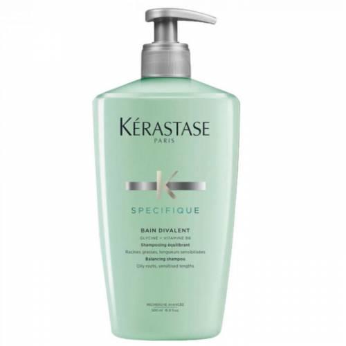 Kerastase Specifique Bain Divalent šampūnas riebiai galvos odai ir sausiems plaukų galiukams (500 ml)