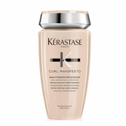 Kerastase Curl Manifesto Bain Hydratation Douceur drėkinantis kreminės tekstūros šampūnas (250 ml)