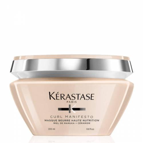 Kerastase Curl Manifesto Masque Beurre Haute Nutrition maitinmoji plaukų kaukė (200 ml)