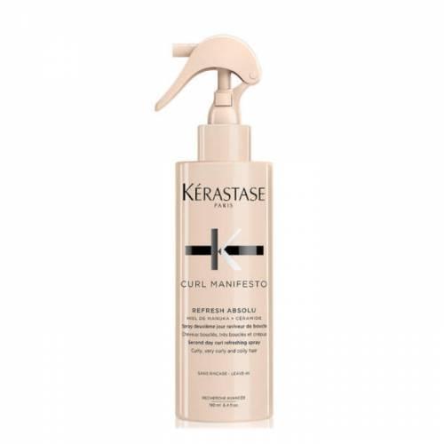 Kerastase Curl Manifesto Refresh Absolu gaivinamasis purškiklis garbanotiems plaukams (190 ml)