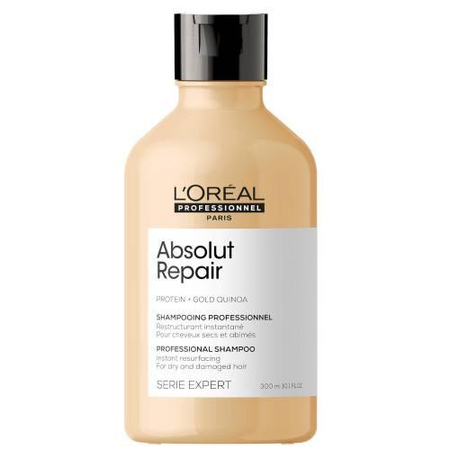 L'oreal Professionnel Absolut Repair Gold Quinoa + Protein atkuriamasis šampūnas labai pažeistiems plaukams (300 ml)