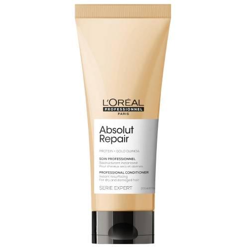 L'Oreal Professionnel Absolut Repair Gold Quinoa + Protein atkuriamasis kondicionierius labai pažeistiems plaukams (200 ml)