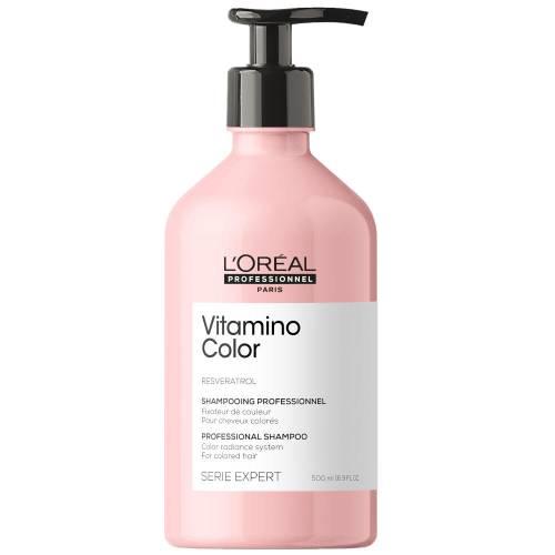 L'oreal Professionnel Vitamino Color Soft dažytų plaukų šampūnas (500 ml)