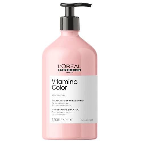 L'oreal Professionnel Vitamino Color dažytų plaukų šampūnas (750 ml)